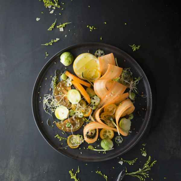 photographe culinaire vegetal vegan legumes orange