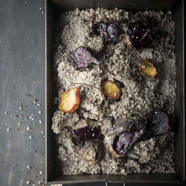 photographe culinaire vegetal vegan legumes rotis sel