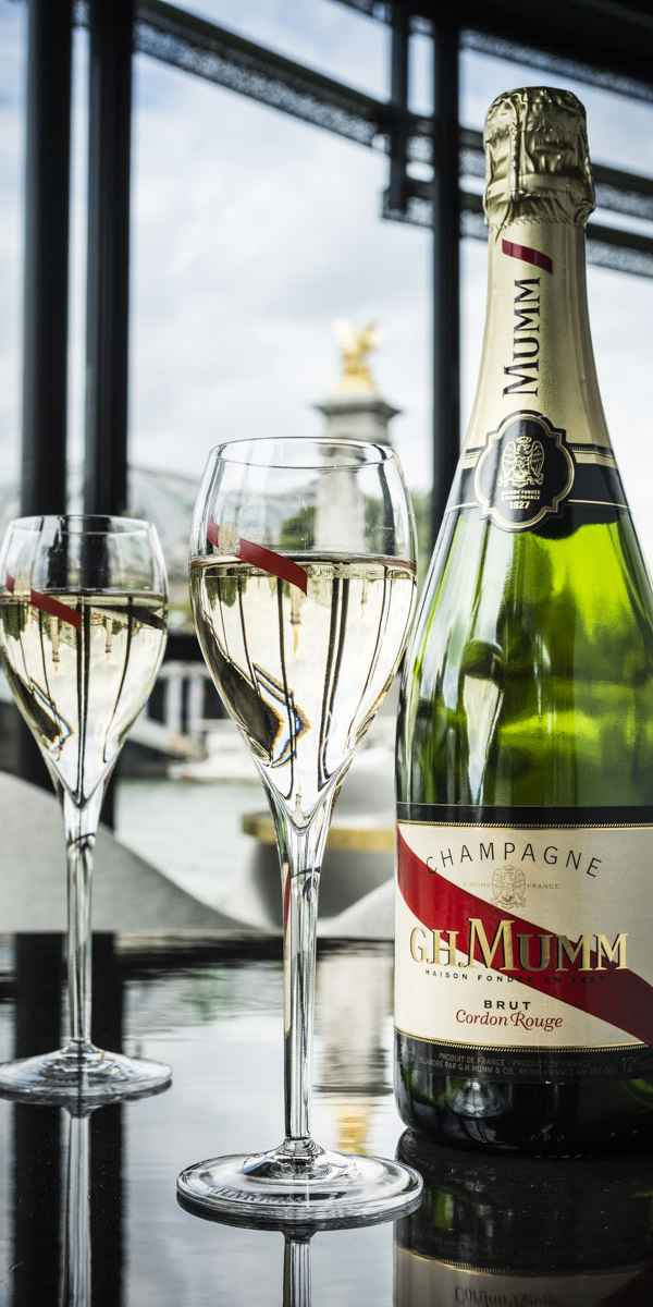 photographe nature morte boisson mumm restaurant