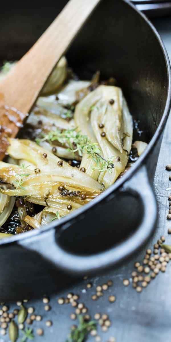 photographe culinaire miel fenouil braise