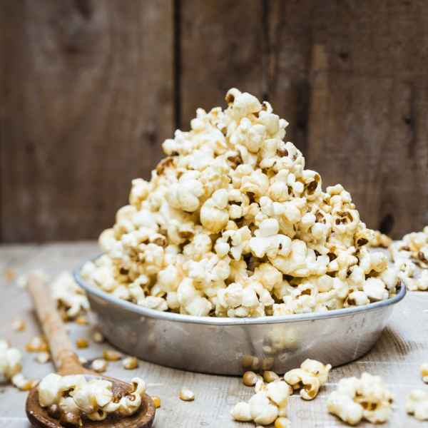 photographe culinaire miel pop corn