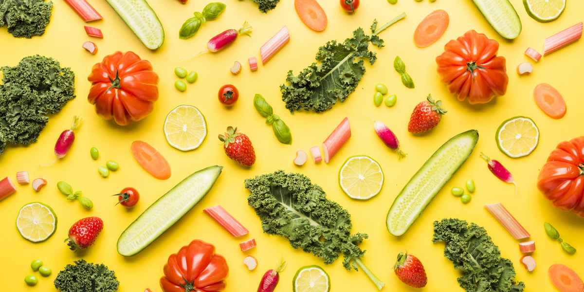 photographe culinaire monoprix pattern legumes