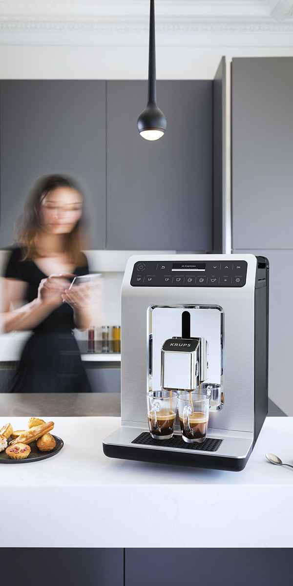 photographe nature morte machine krups full auto cappuccino cuisine