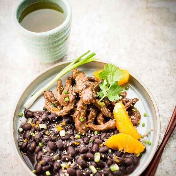 photographe culinaire boeuf saute asie
