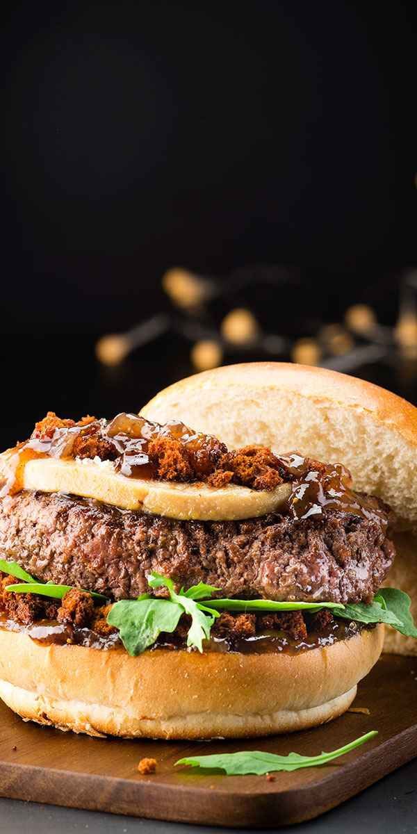 photographe culinaire burger foie gras
