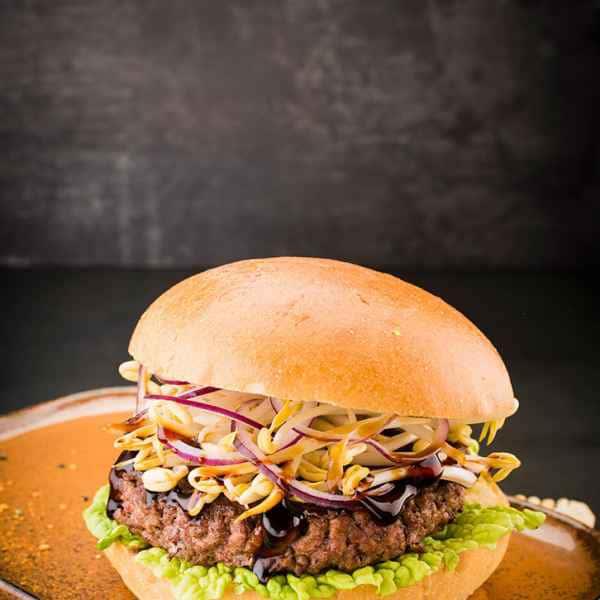 photographe culinaire burger thailandais