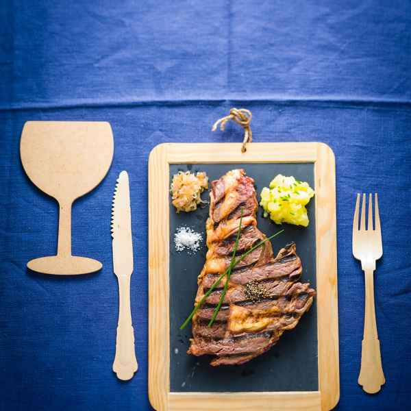 photographe culinaire entrecote
