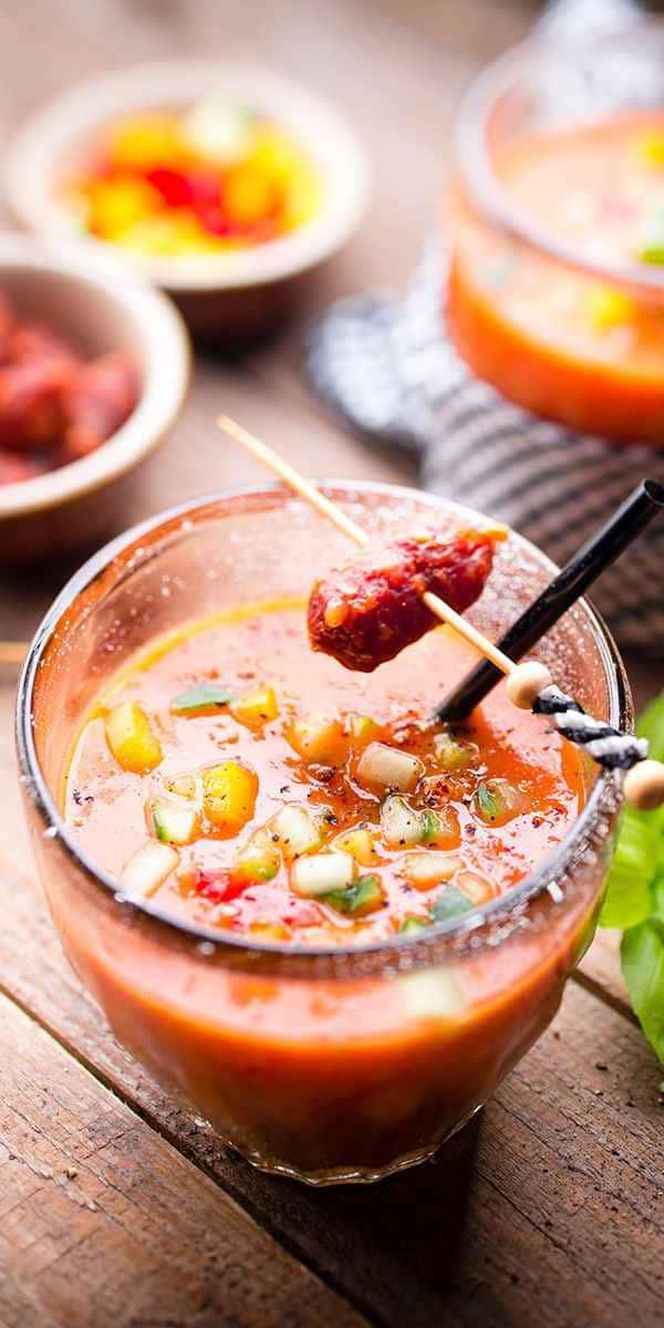 photographe culinaire gaspacho espagnol