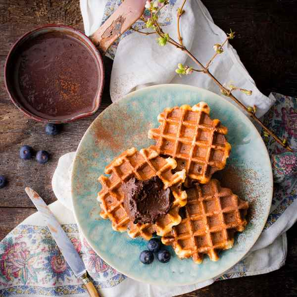 photographe culinaire gaufre liegoise