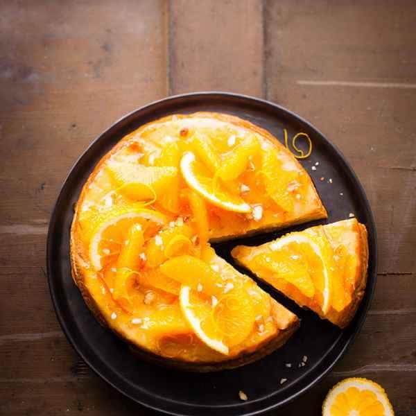 photographe culinaire pudding orange