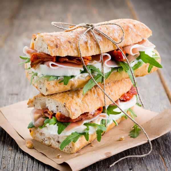 photographe culinaire sandwich italien