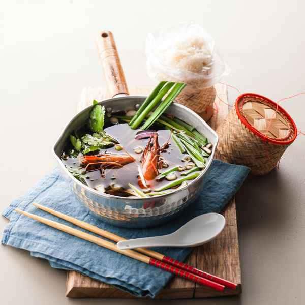 photographe culinaire soupe pho
