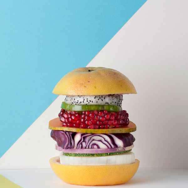 photographe nature morte burger elle et vire
