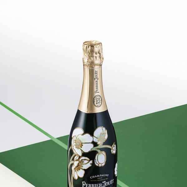 photographe nature morte champagne perrier jouet