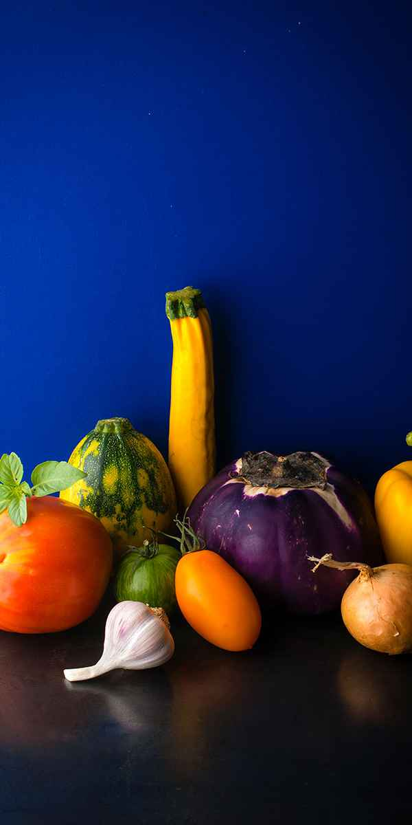 photographe nature morte legumes ratatouille