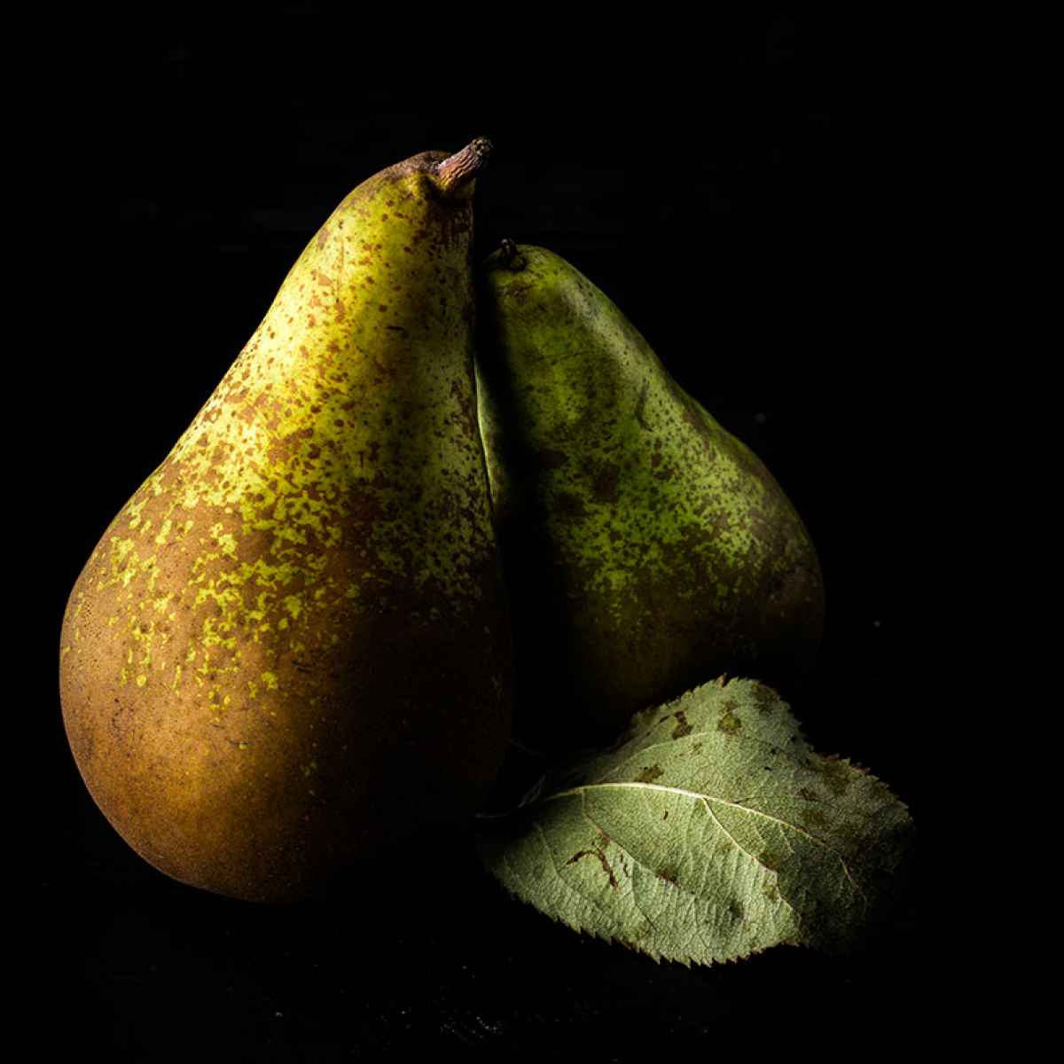 photographe nature morte poires