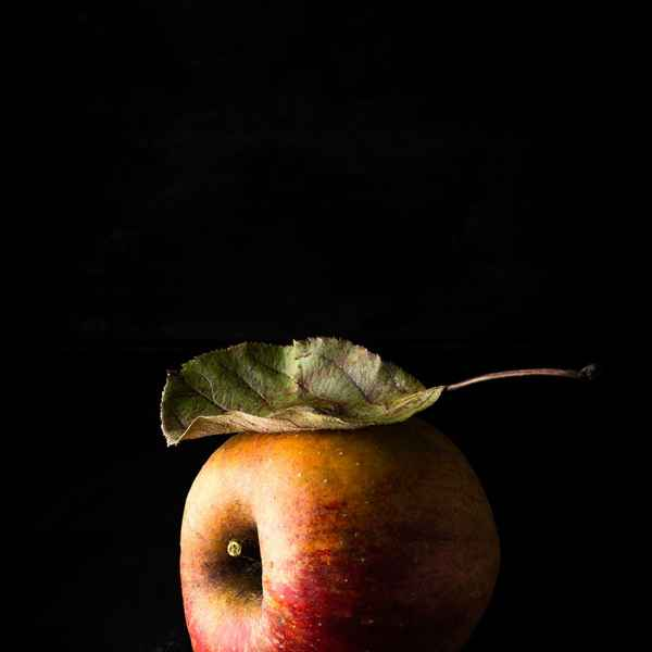 photographe nature morte pomme