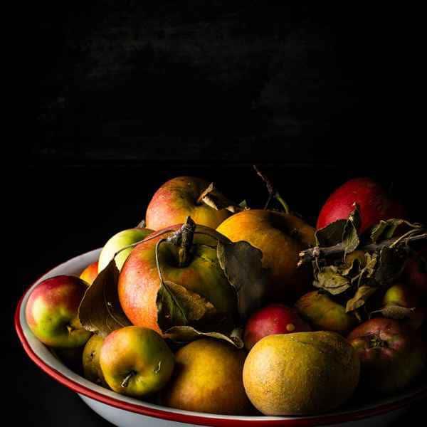 photographe nature morte saladier pommes