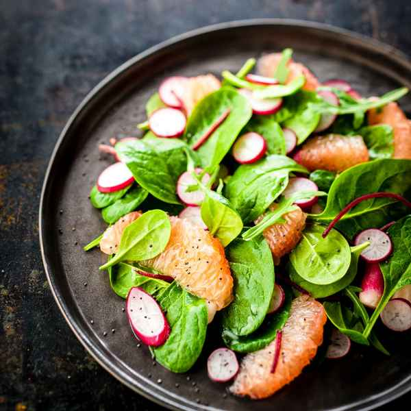 photographe culinaire salade agrumes