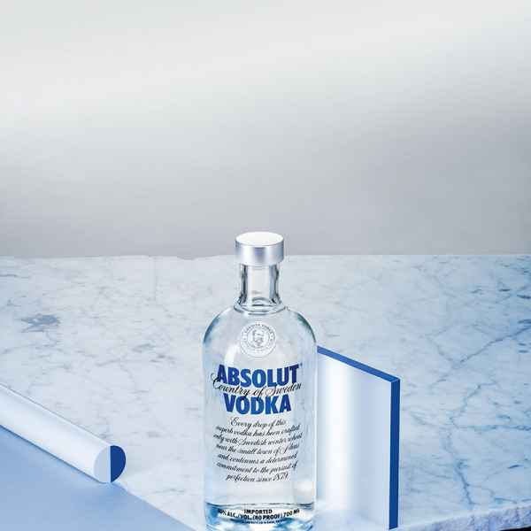 photographe nature morte absolut vodka