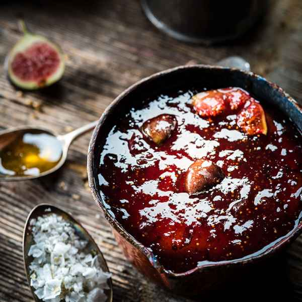 photographe culinaire recette confiture figue