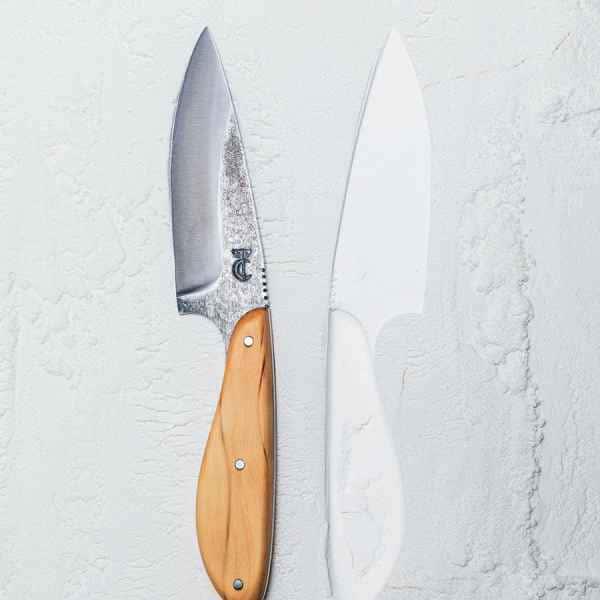 photographe nature morte couteau coutelier renard