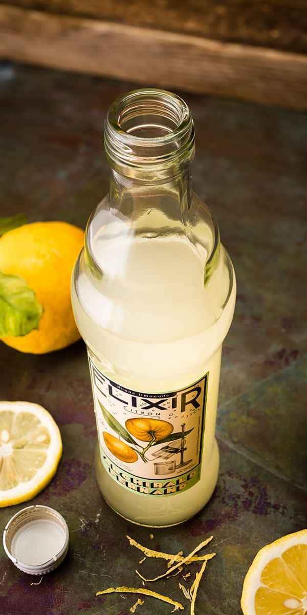 photographe culinaire big fernant boisson elixir citron