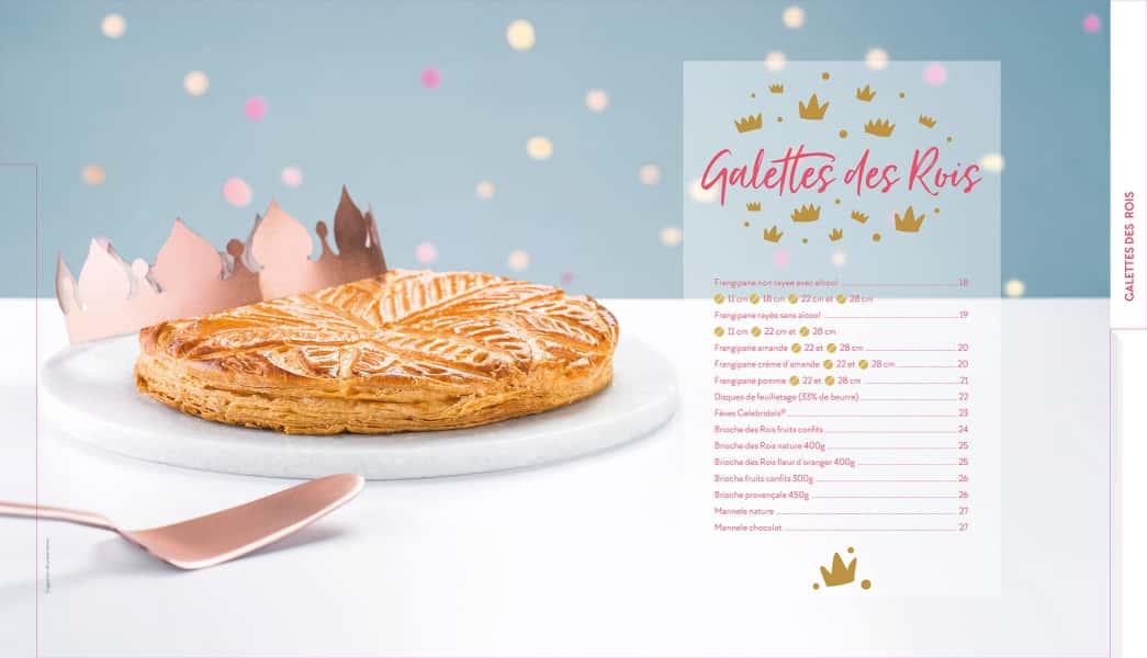 photographe culinaire collection gourmande galette des rois