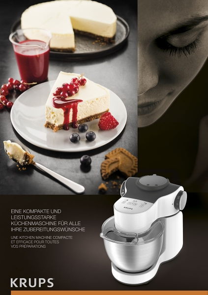 photographe culinaire krups aide culinaire cheesecake robot multifonction