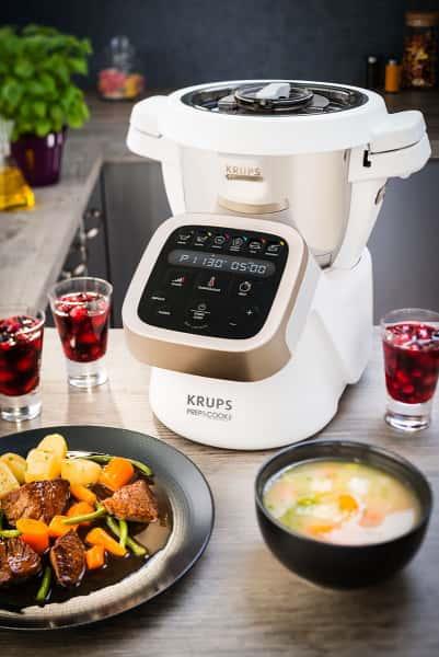 photographe culinaire krups prep cook multicuiseur