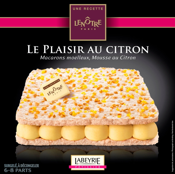 photographe culinaire labeyrie dessert packaging plaisir citron