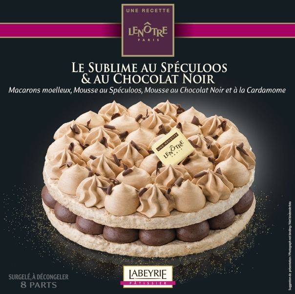 photographe culinaire labeyrie dessert packaging sublime chocolat speculoos
