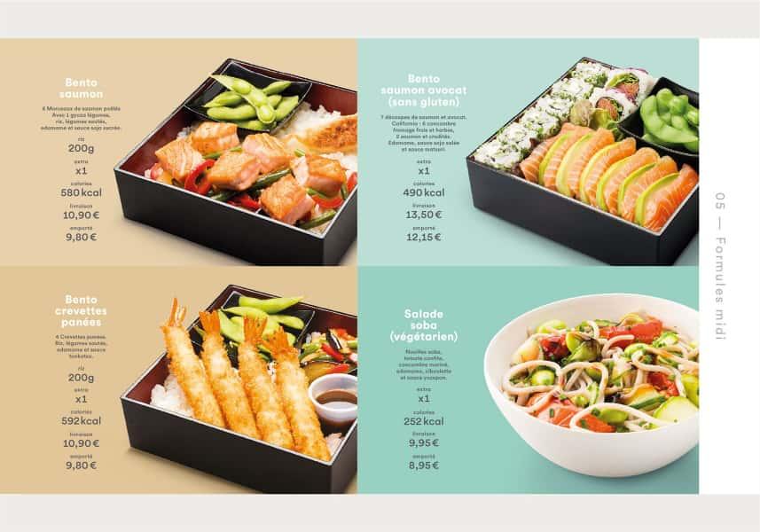 photographe culinaire matsuri carte printemps ete bento