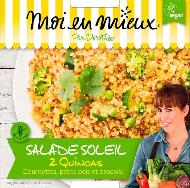 photographe culinaire moi en mieux packaging vegan salade quinoa