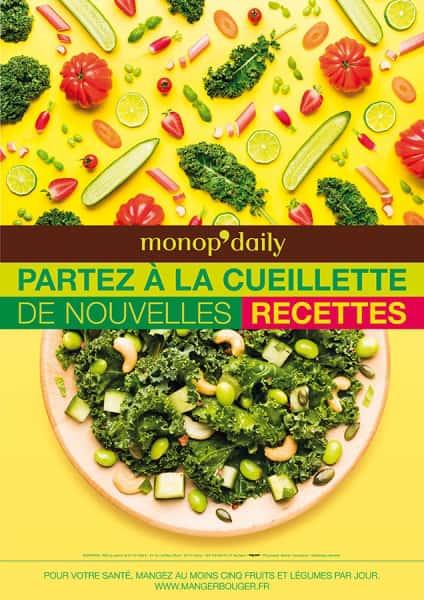 photographe culinaire monop daily printemps 2016 culinaire affichage