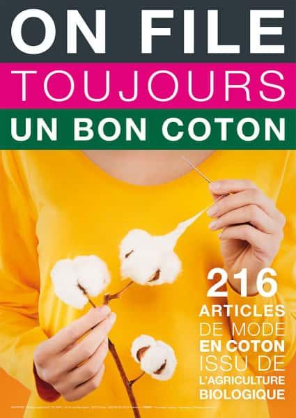 photographe culinaire monoprix affiche developpement durable coton