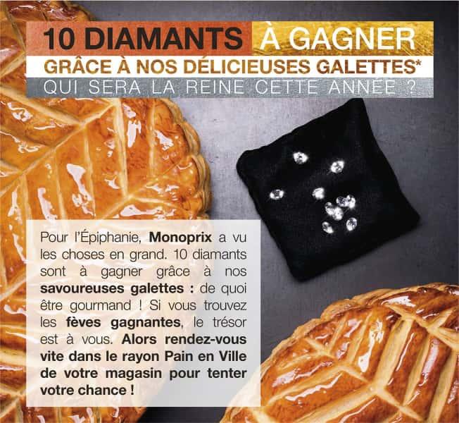 photographe culinaire monoprix galette epiphanie diamant