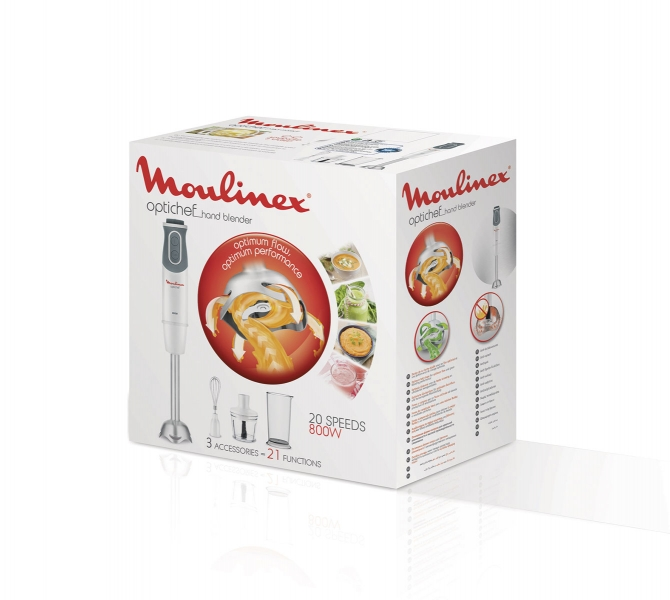 photographe culinaire moulinex mixeur plongeant packaging
