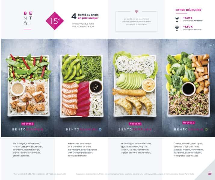 photographe culinaire planet sushi bento