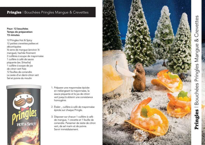 photographe culinaire pringles mangues crevettes