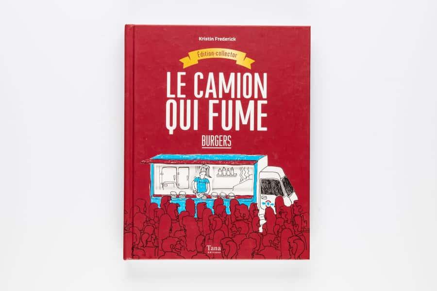 photographe culinaire tana editions livre couverture camion fume burger