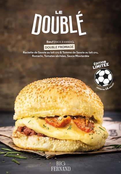 photographe culinaire big fernand burger double foot
