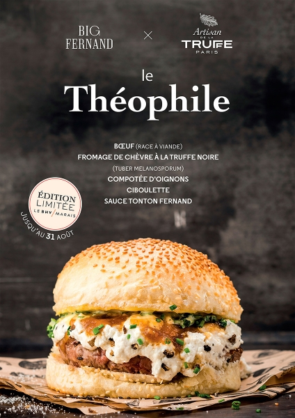 photographe culinaire big fernand burger theophile truffe