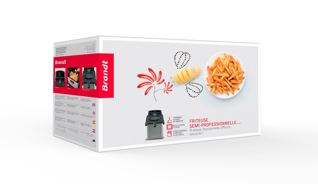 photographe culinaire brandt pack friteuse frites