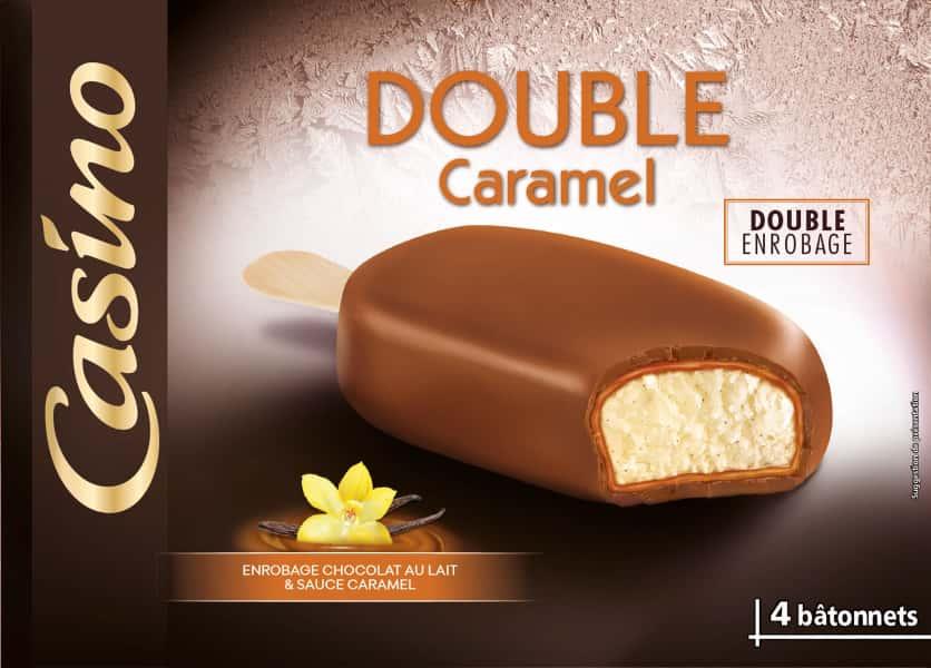 photographe culinaire casino glace double caramel chocolat lait