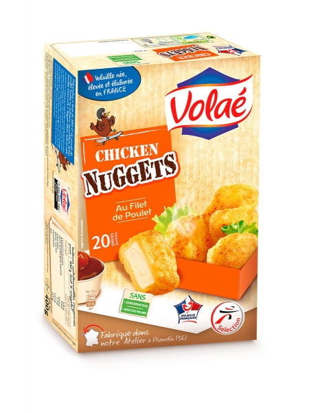 photographe culinaire intermarche volae nuggets poulet packaging