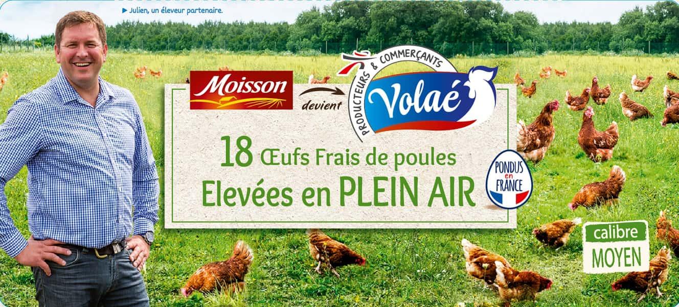 photographe culinaire intermarche volae portrait reportage eleveur poules julien