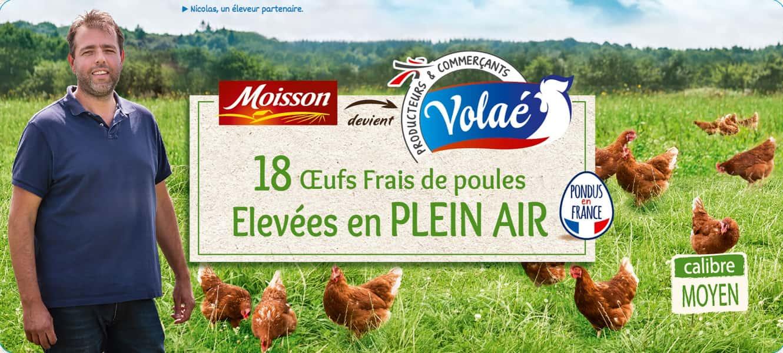 photographe culinaire intermarche volae portrait reportage eleveur poules nicolas