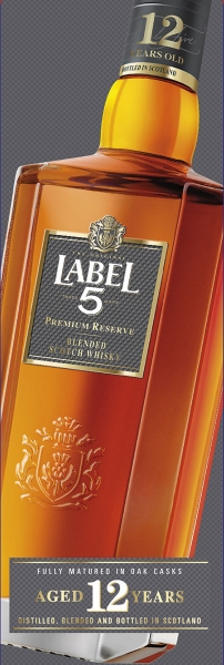 photographe culinaire label 5 bouteille whisky packaging