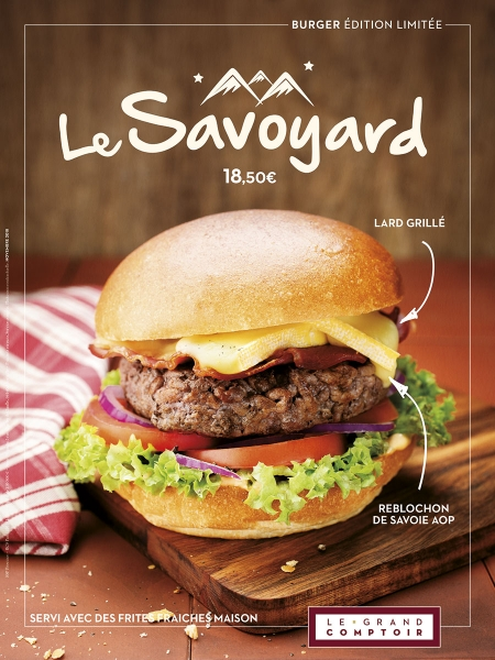 photographe culinaire le grand comptoir ambiance burger savoyard